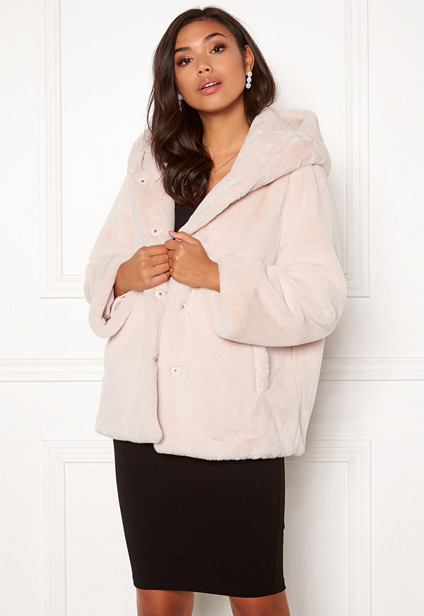 Bubbleroom Molly faux fur jacket