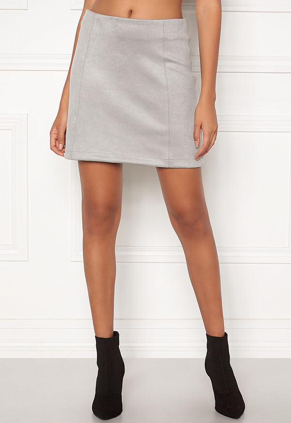 New Look Seam Suedette Mini Skirt