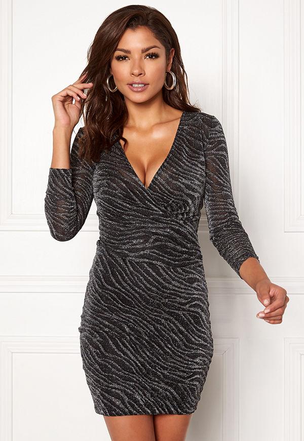 Chiara Forthi Frizzante dress Black / Silver