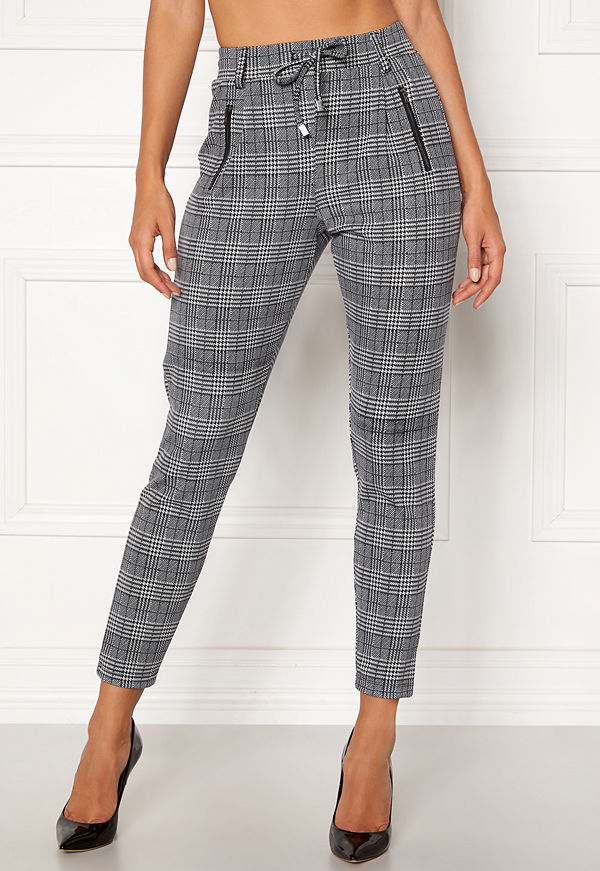 Happy Holly rutiga byxor Cleo Trousers