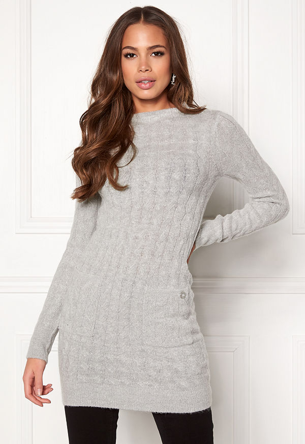 Happy Holly Kira cable sweater dress