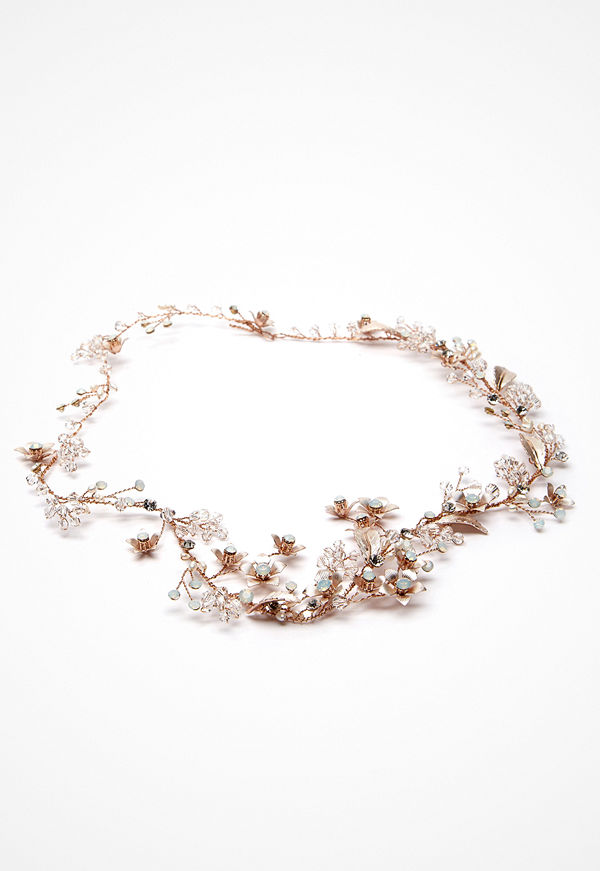 Ivory & Co smycke Cinnamon Rose Hairvine