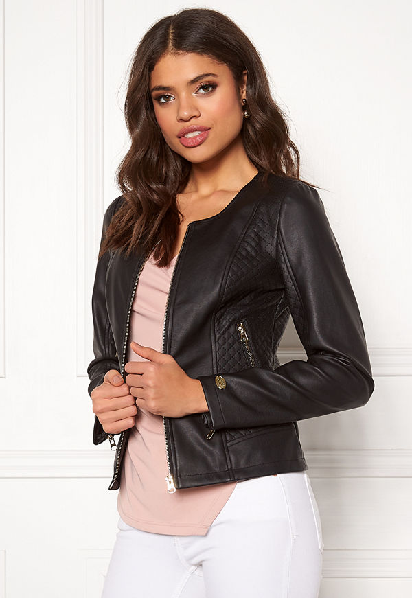 Chiara Forthi Sorrento faux leather jacket