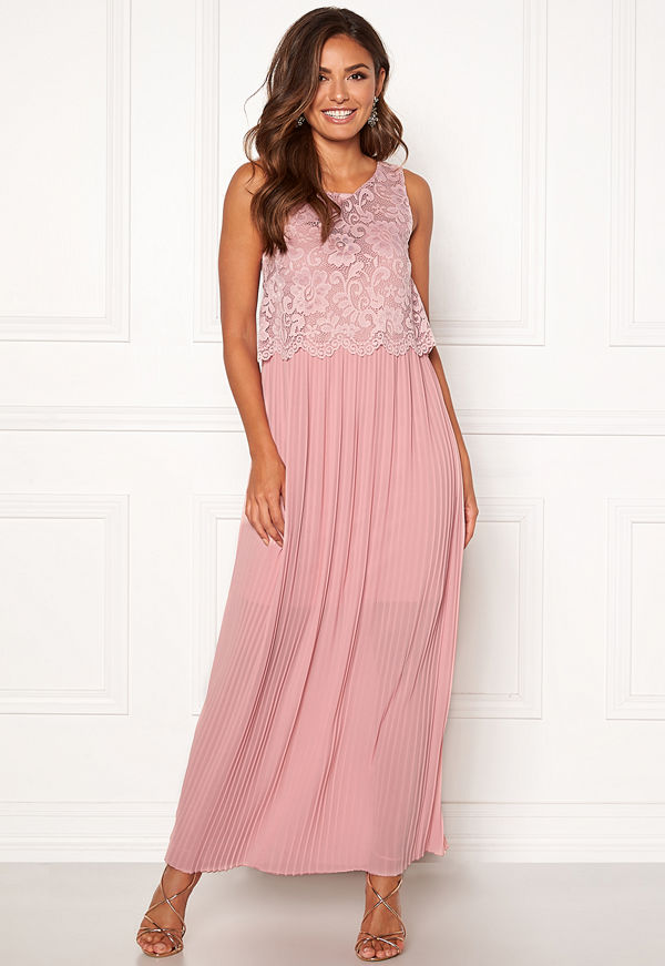 Happy Holly Blanche maxi dress