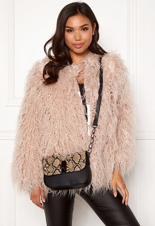 New Look Samira Snake Saddle Bag