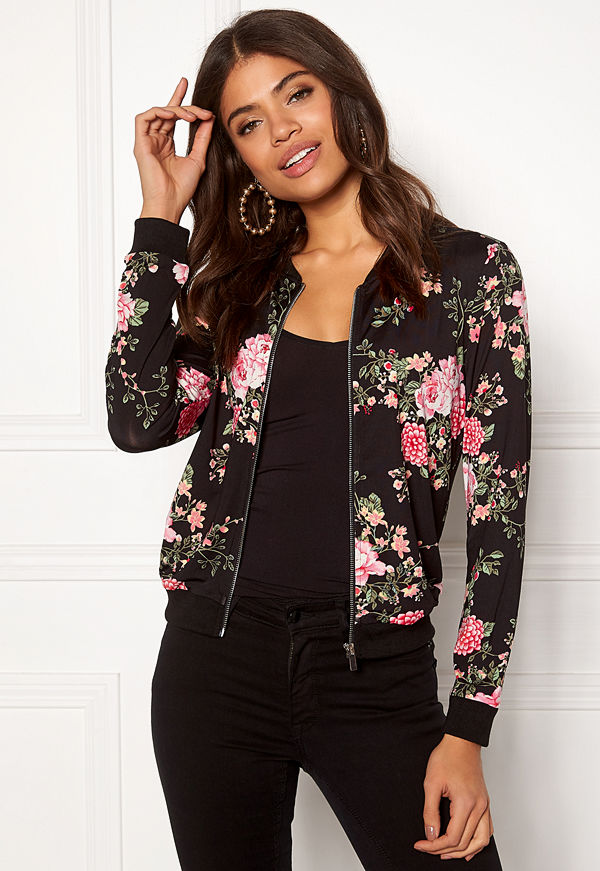 Happy Holly mönstrad bomberjacka Petra jacket