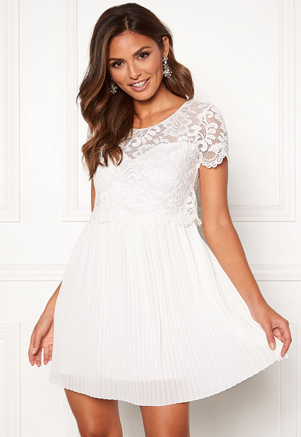 Happy Holly Blanche occasion dress