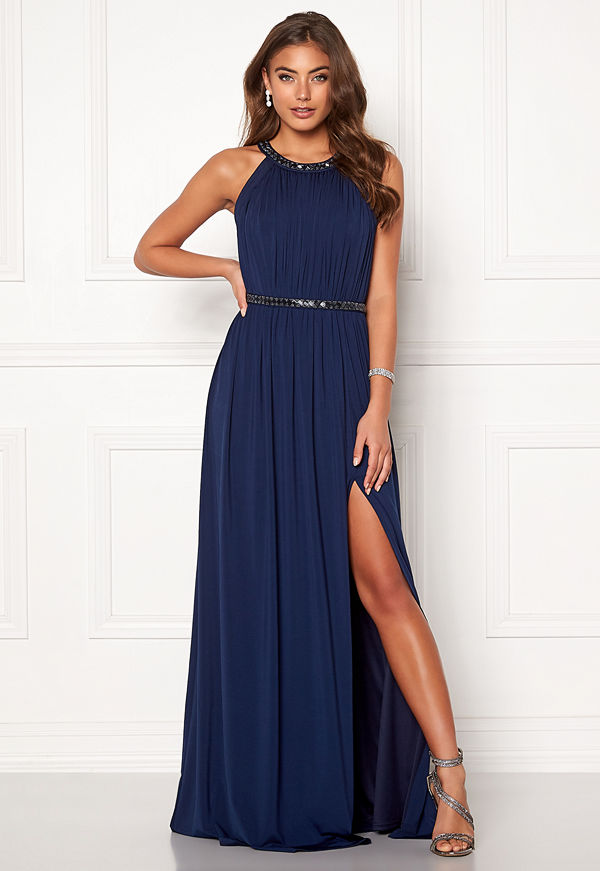 Moments New York Rose Draped Gown