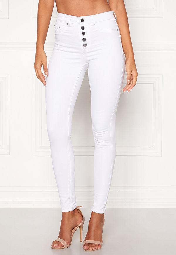 Happy Holly Josie jeans White