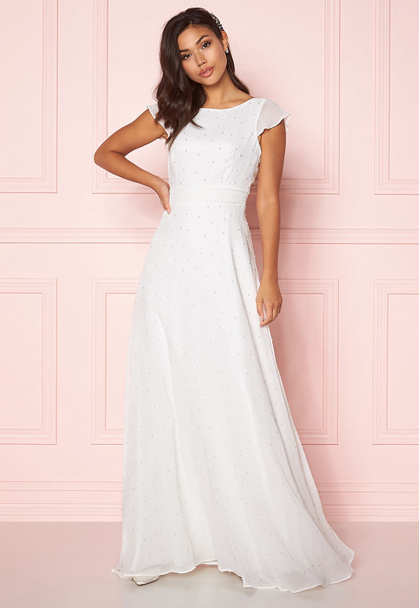 Chiara Forthi Rosanne pearl gown