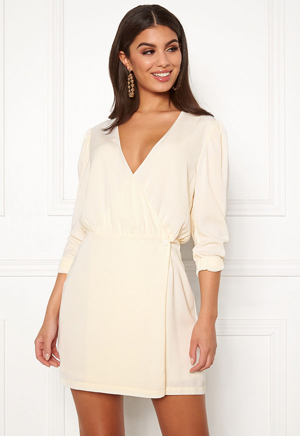 Ivyrevel Woven Wrap Mini Dress