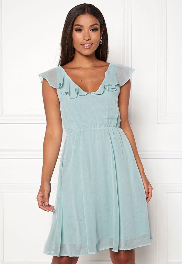 Vila Rannsil S/L Short Dress