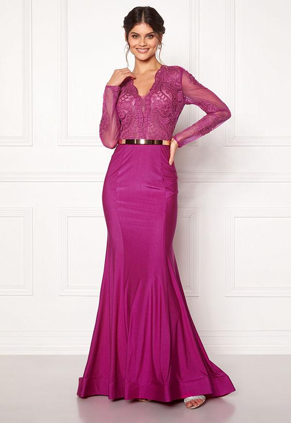 Susanna Rivieri Fishtail Longsleeve Dress