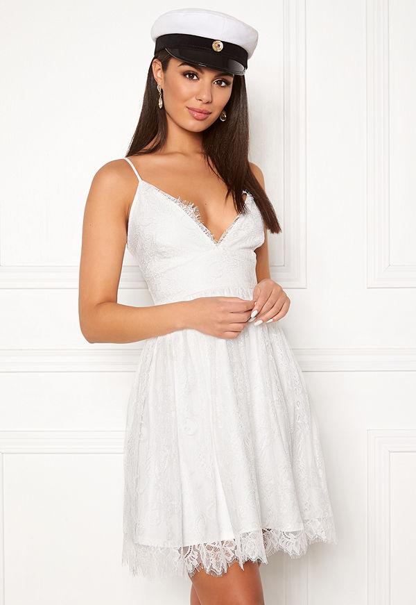 Chiara Forthi Blossom lace dress White