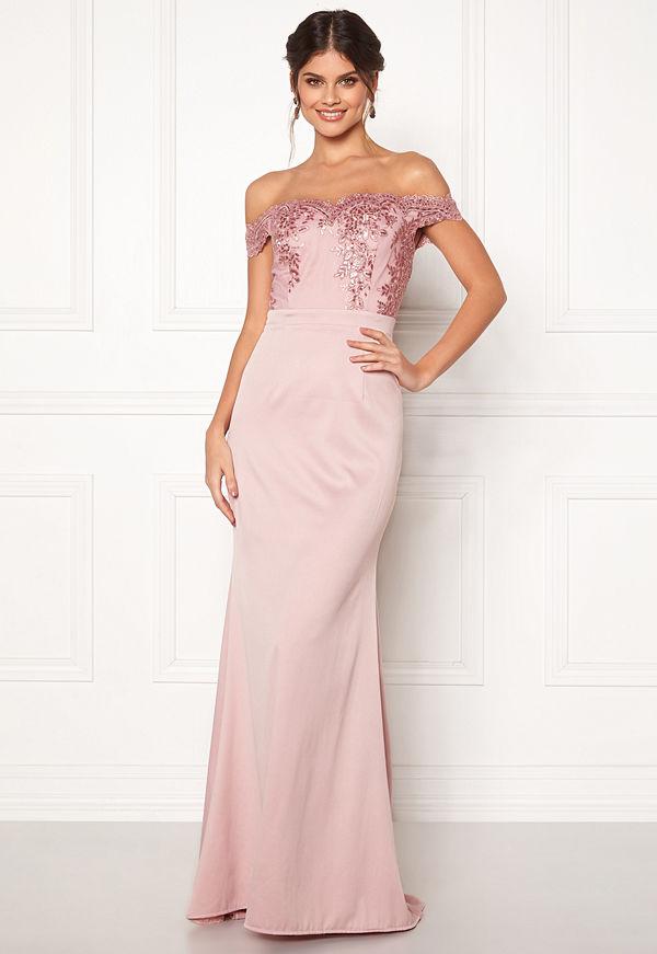 Moments New York Alyssa Bardot Gown