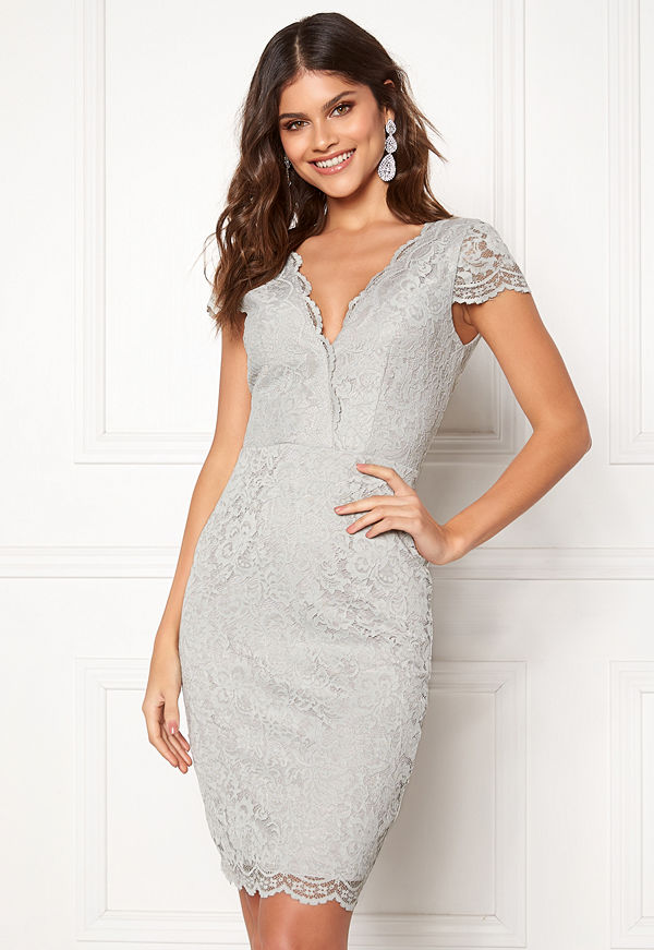 Moments New York Viola Lace Dress Dusty green