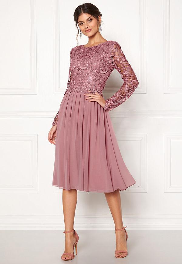 Moments New York Primrose Crochet Dress Lilac
