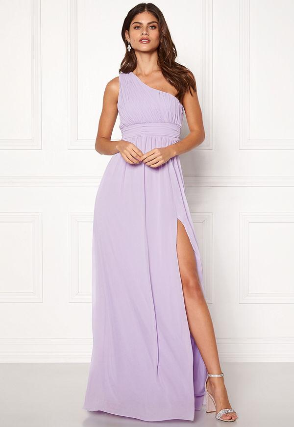 Make Way Ellamae one shoulder gown
