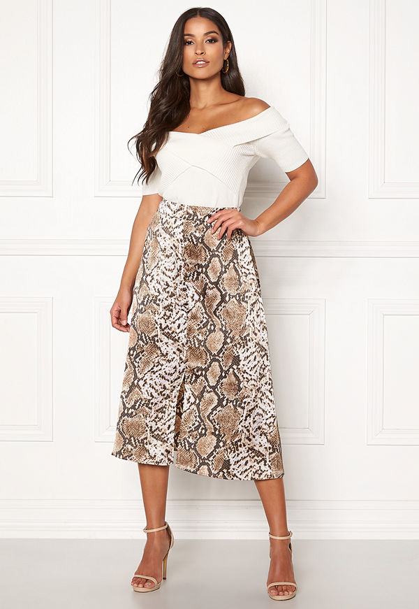 Pieces Celinen MW Midi Skirt
