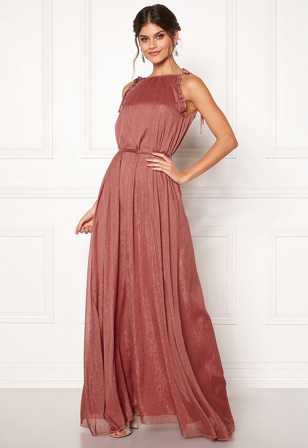 Moments New York Aster Chiffon Gown Old rose