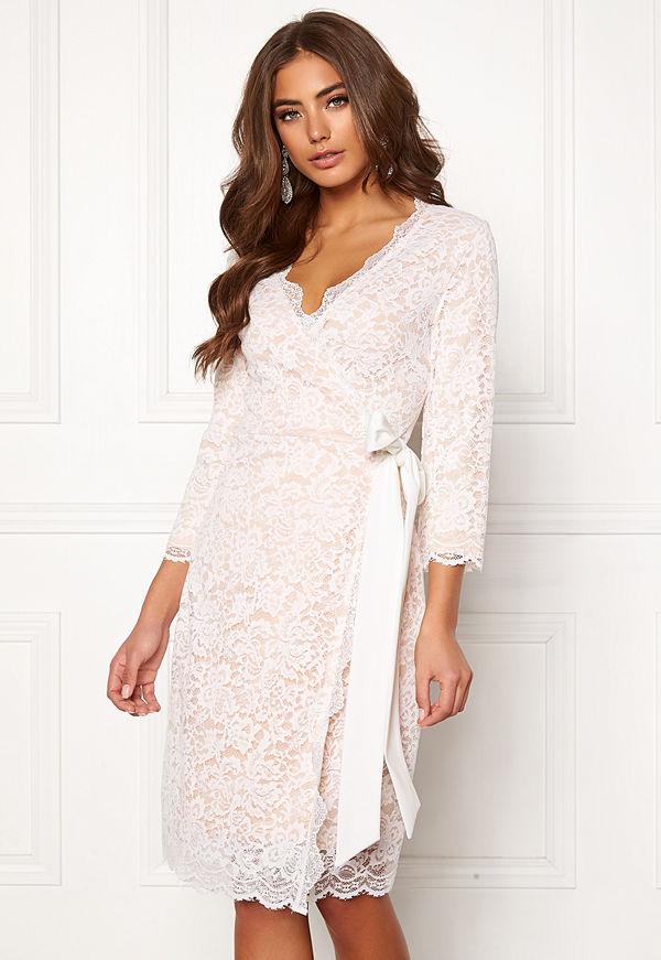 Bubbleroom Carolina Gynning lace wrap dress