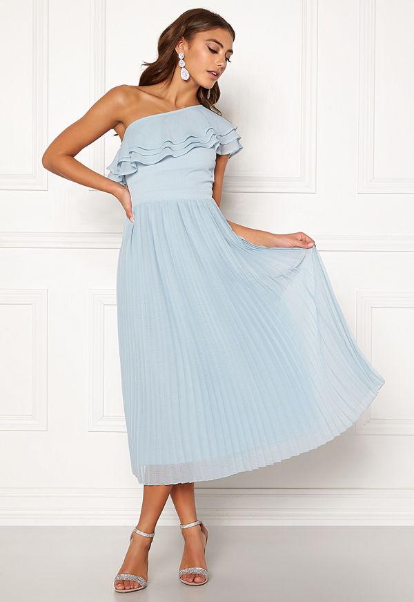 Bubbleroom Carolina Gynning Frill one shoulder dress