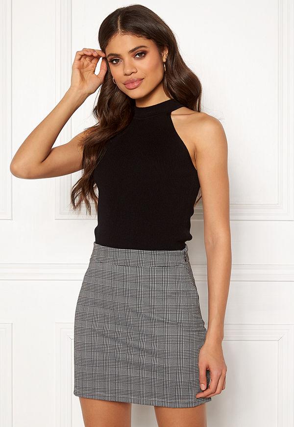 Selected Femme Solita S/L Knit Top Black