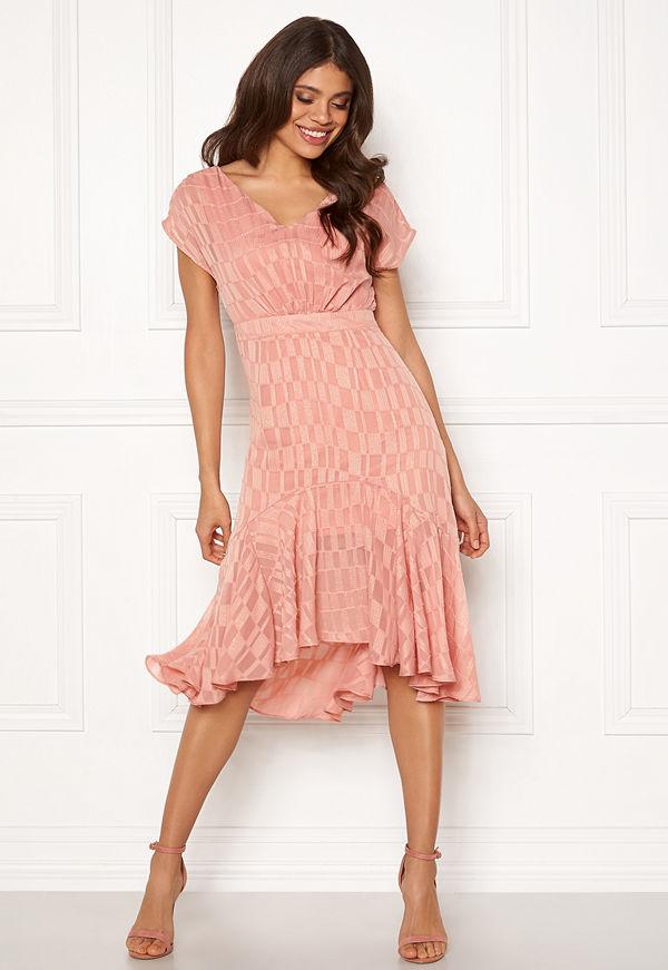 Object Kelsey S/S Dress Misty Rose