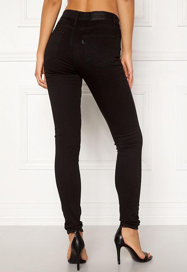 Levi's 720 Hirise Super Skinny Jeans 0000 Black Galaxy