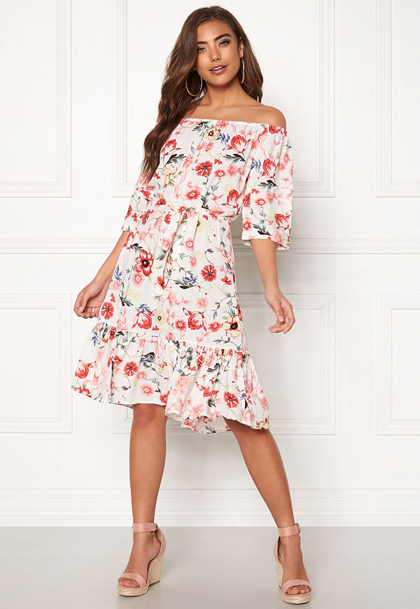 Jacqueline de Yong Star Offshoulder Dress