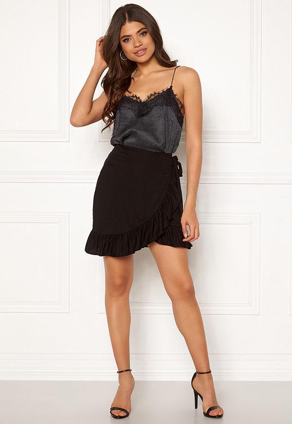 Pieces Cora MW Wrap Skirt