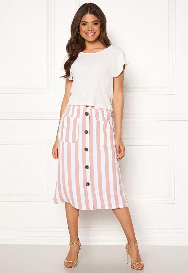 Only Madeline Piper Midi Skirt