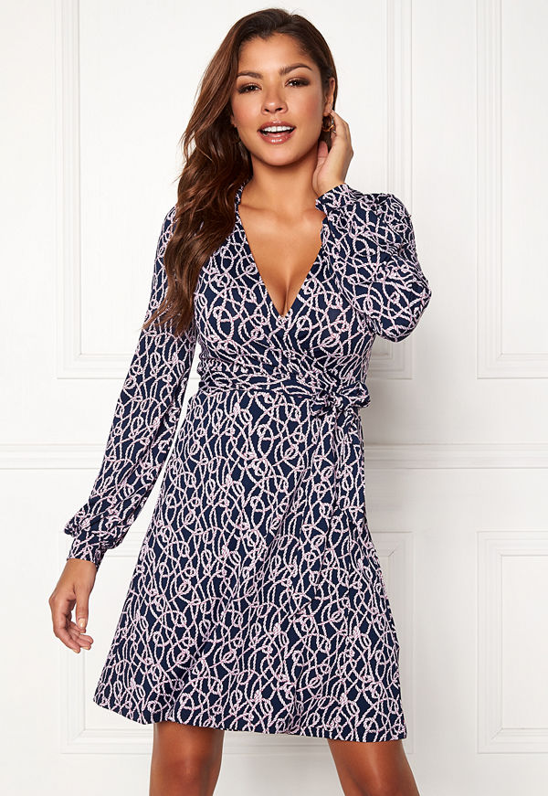 Chiara Forthi Claudina wrap shirt dress