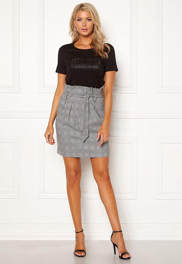 Object Lisa Abella Mini Skirt Gardenia/Checks