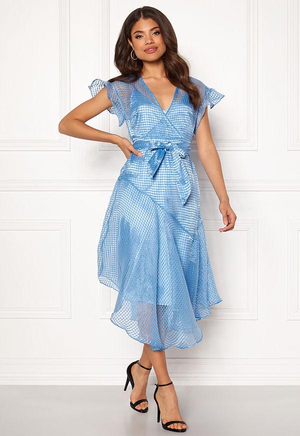 Y.a.s Chello SS Dress Bonnie Blue