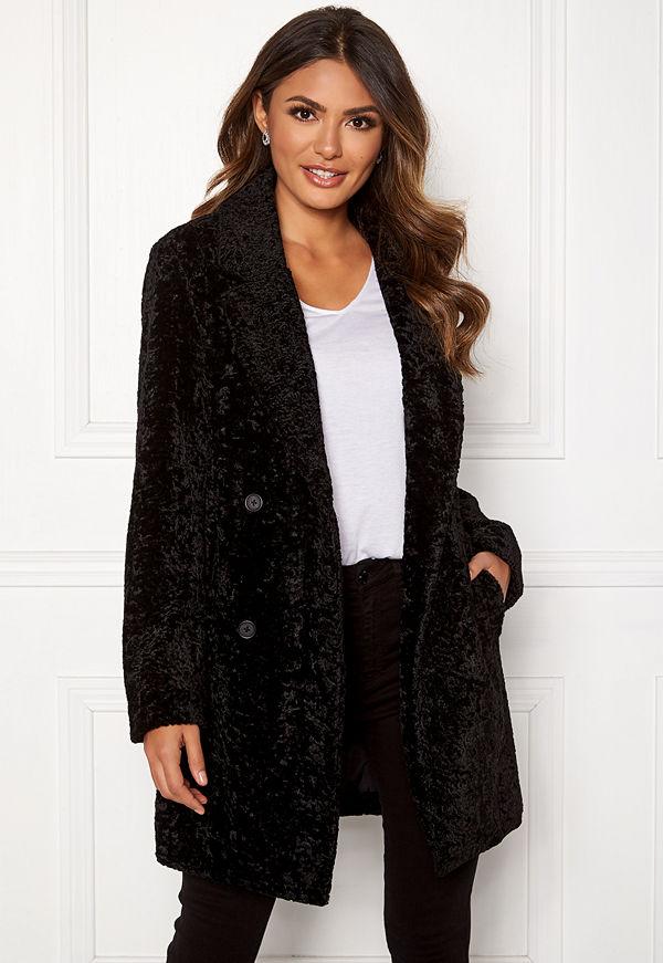 Happy Holly Sienna fur coat