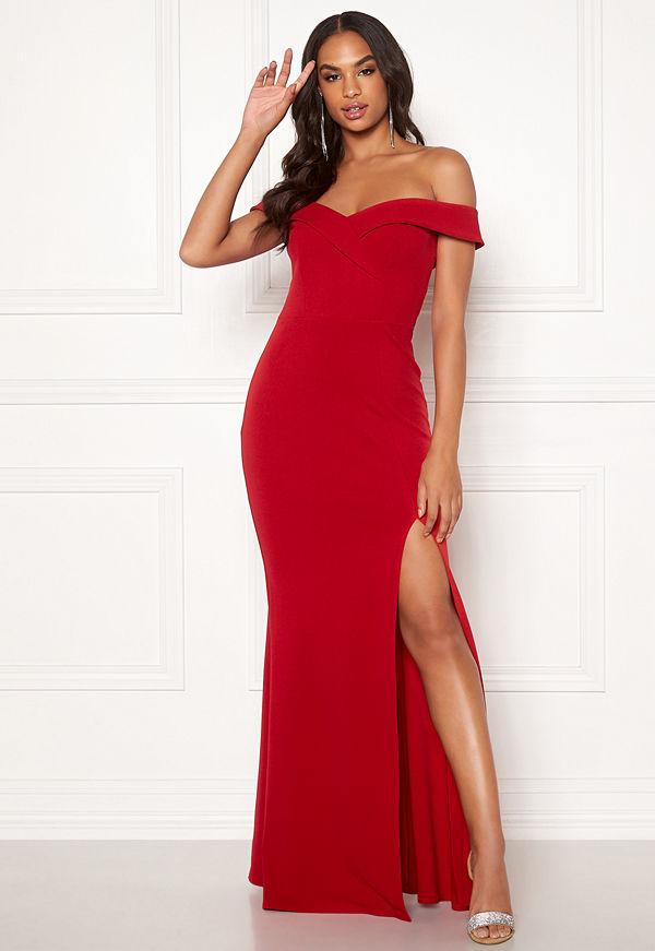 Goddiva Sweetheart Maxi Dress