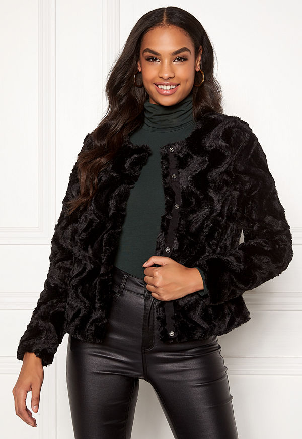 Vero Moda Curl Short Fur Jacket
