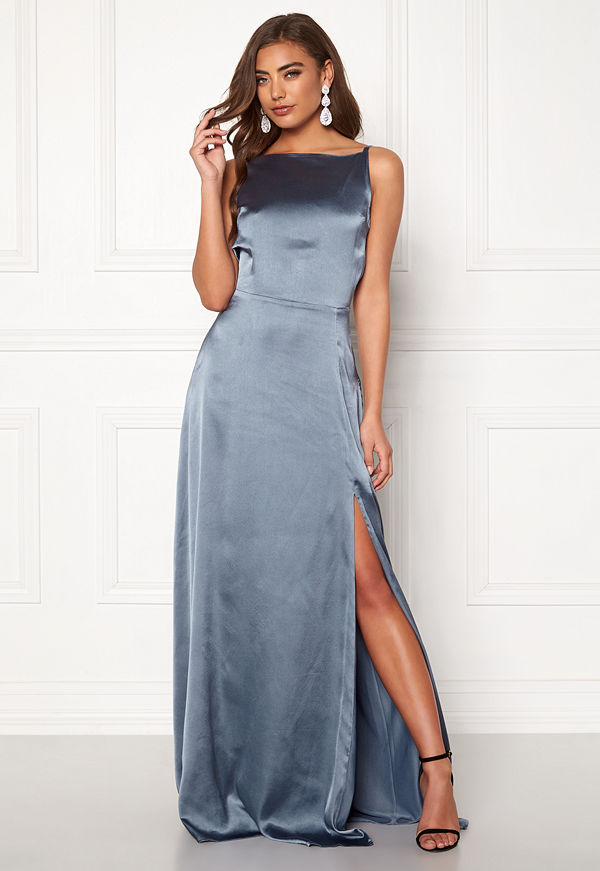 Moments New York Laylani Satin Gown