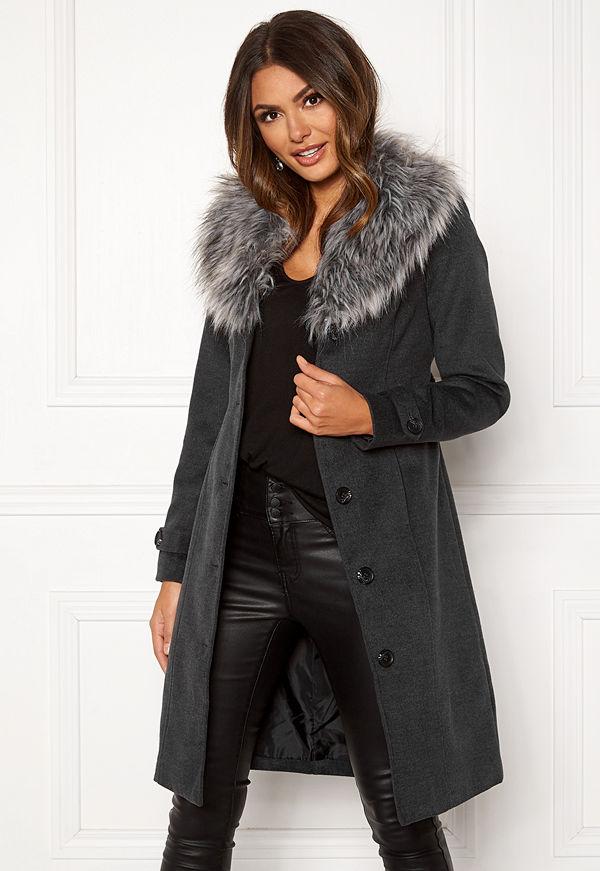 Happy Holly Elisa coat with belt