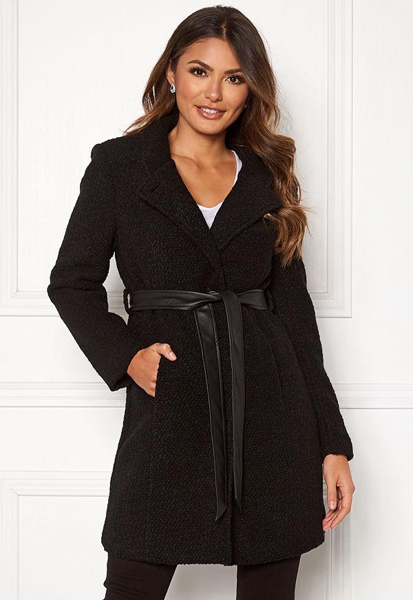 Happy Holly Tuva wool coat