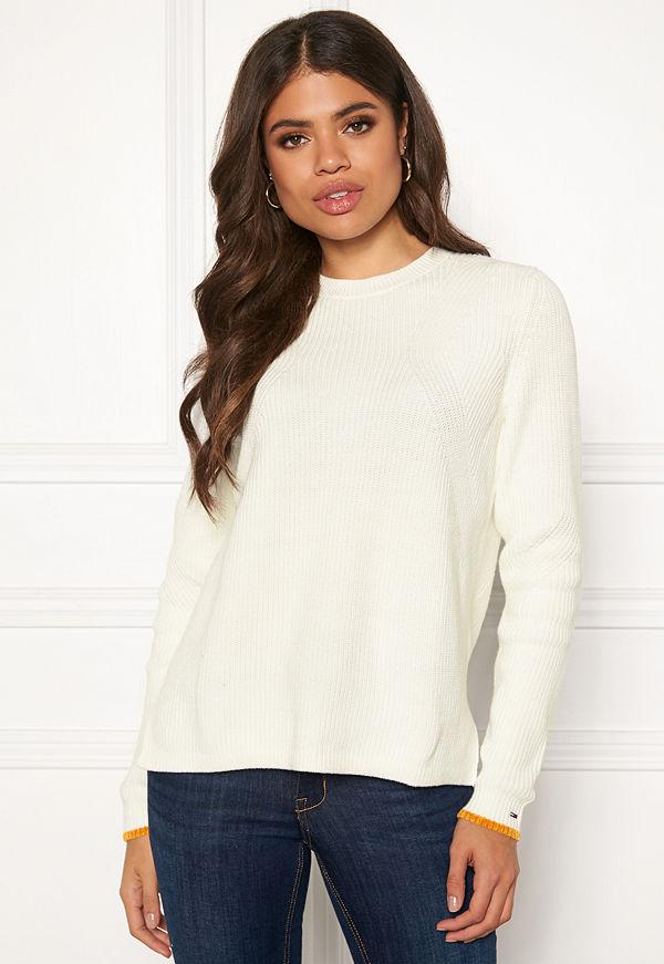 Tommy Jeans Side Slit Crew Sweater