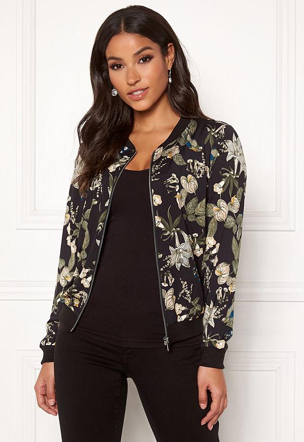 Happy Holly mönstrad bomberjacka Hanna jacket
