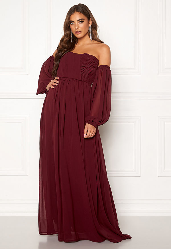 Moments New York Liliane Pleated Gown