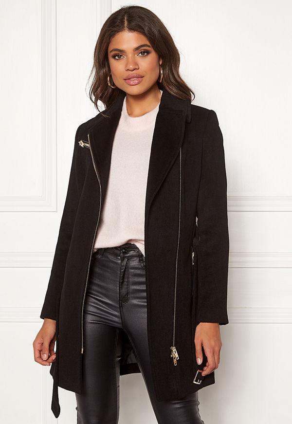 ROCKANDBLUE Eriana Wool Coat Black