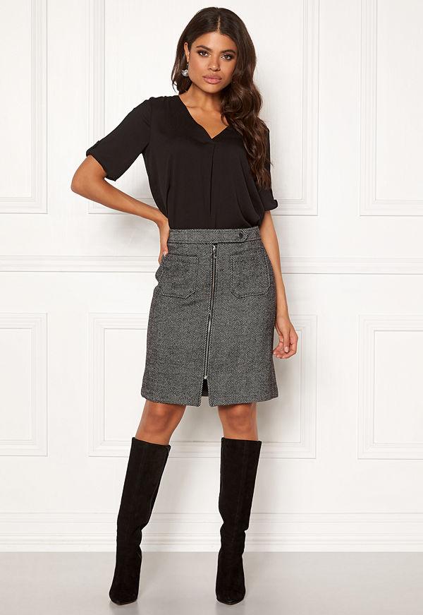 Vero Moda Toya Herringbone Skirt