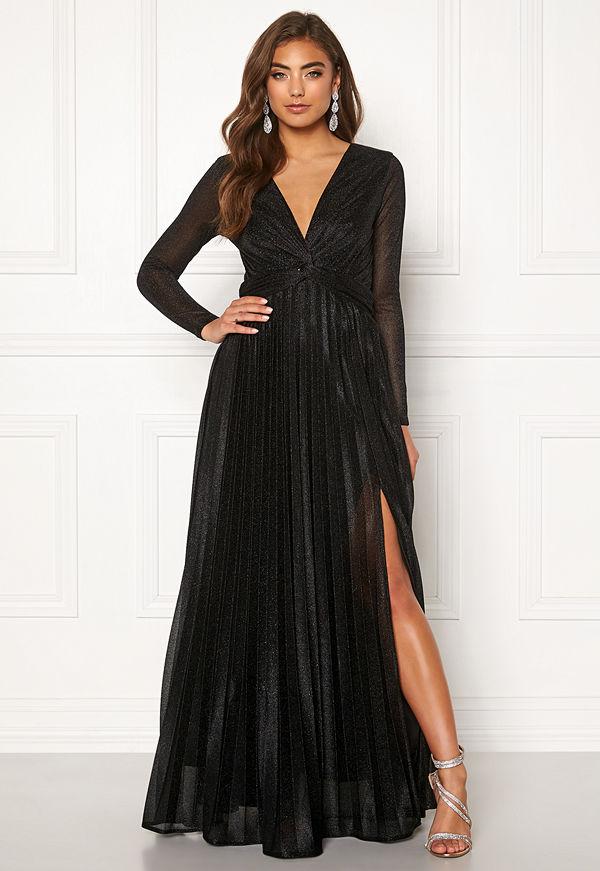 Moments New York Sienna Lurex Gown Black