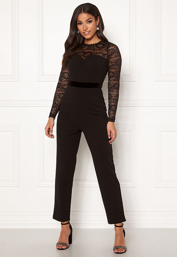 Happy Holly Anna lace tricot jumpsuit