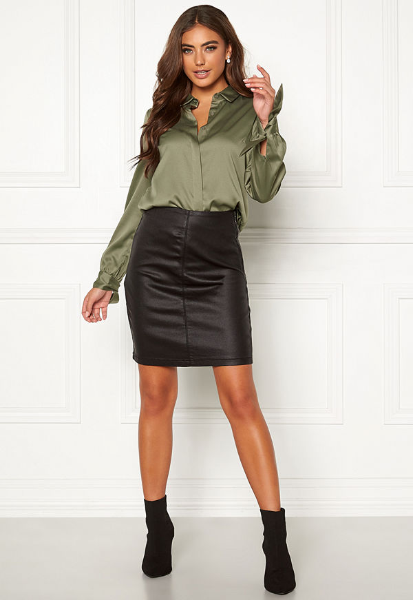 Moa Mattsson X Bubbleroom Coated skirt