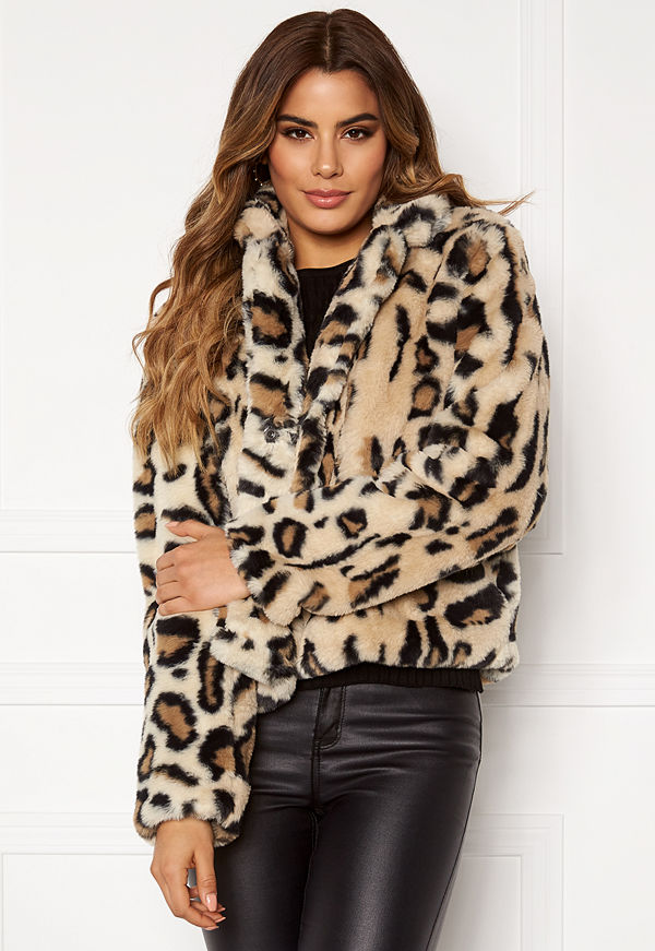 Rut & Circle Nova Faux Fur Jacket